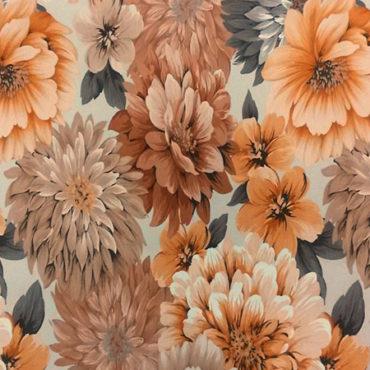 Gerbera col. 05 beige-brown