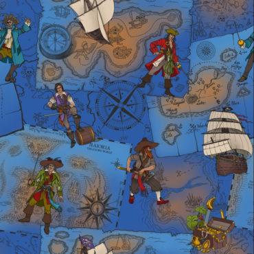 Pirates cobalt light